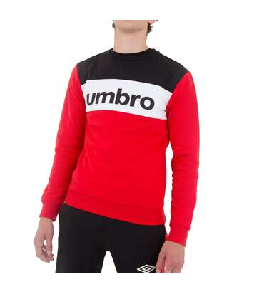 Sweat rouge Umbro AUT CREW
