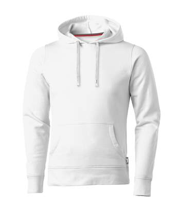 Slazenger Mens Alley Hooded Sweater (White) - UTPF1760