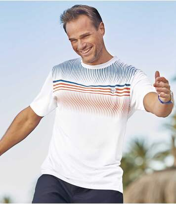 Set van 3 sport T-shirts van polyester