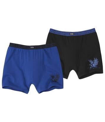 Set van 2 stretch boxershorts Eagle