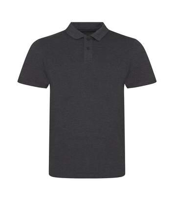 AWDis Mens Tri-Blend Polo Shirt (Heather Charcoal) - UTPC2971