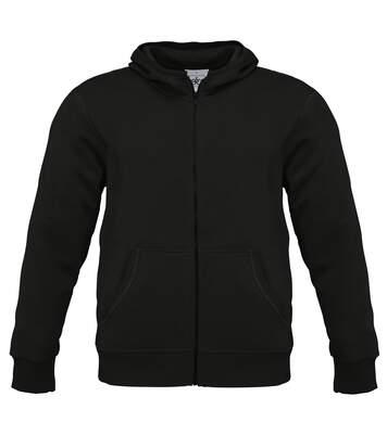 B&C Mens Monster Full Zip Hooded Sweatshirt / Hoodie (Navy Blue) - UTBC2012