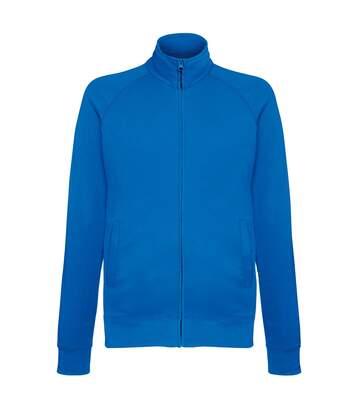 Fruit Of The Loom Mens Lightweight Full Zip Sweatshirt Jacket (Deep Navy) - UTRW4500
