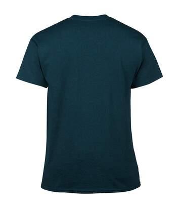 Gildan Mens Heavy Cotton Short Sleeve T-Shirt (Blackberry) - UTBC481
