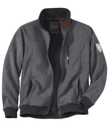 Fleecová bunda svodoodpudivou povrchovou úpravou