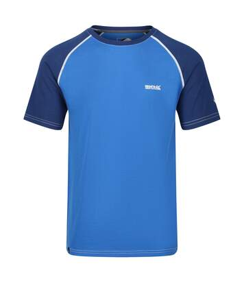Regatta Mens Tornell Super Soft Merino Wool T-Shirt (Sea Blue/Majolica Blue) - UTRG4155