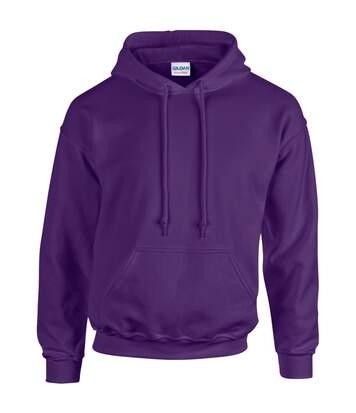 Gildan Heavy Blend Adult Unisex Hooded Sweatshirt / Hoodie (Indigo Blue) - UTBC468