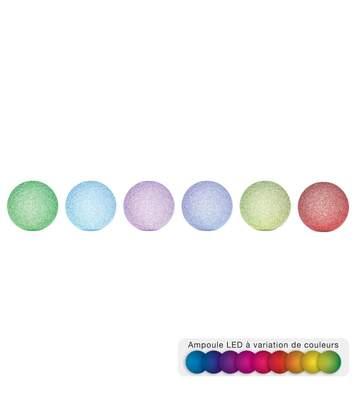 Atmosphera - Boule LED effet cristal D12
