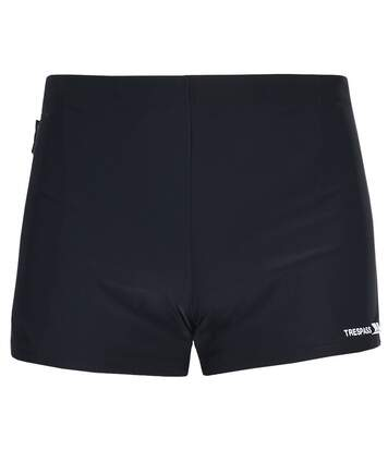 Trespass Mens Exerted Contrast Panel Swim Shorts (Black) - UTTP2198