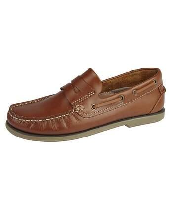 Dek - Chaussures bateau - Homme (Marron clair) - UTDF702