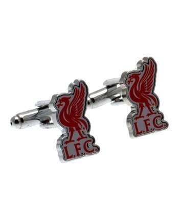 Liverpool Fc - Boutons De Manchette (Argent / rouge) - UTSG6856