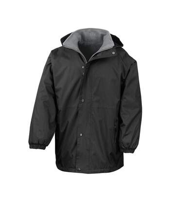Result Mens Reversible StormDri 4,000 Waterproof Windproof Anti Pilling Fleece Jacket (Black/Grey) - UTBC884