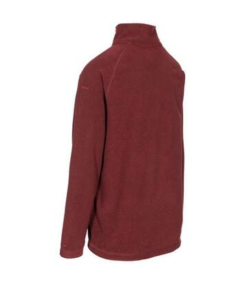 Trespass Mens Keynote Anti Pilling 1/4 Zip Fleece Top (Prune) - UTTP4242
