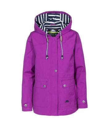 Trespass Womens/Ladies Seawater Waterproof Jacket (Purple Orchid) - UTTP3314