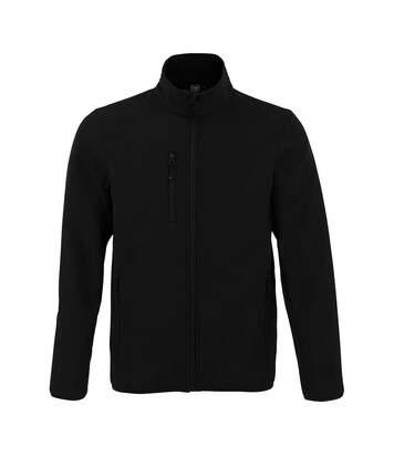 SOLS Mens Radian Soft Shell Jacket (Black) - UTPC4115
