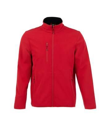 SOLS Mens Radian Soft Shell Jacket (Pepper Red) - UTPC4115