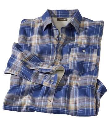 Flanelowa koszula w kratę Blue Canyon