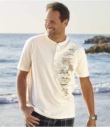 Set van 3 mediterrane T-shirts