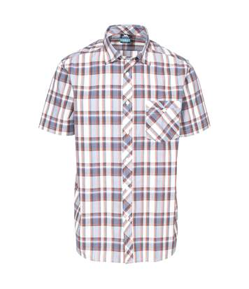 Trespass Mens Kenora Shirt (Burnt Orange Check) - UTTP4332