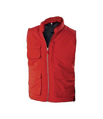 BODYWARMER MATELASSÉ Red