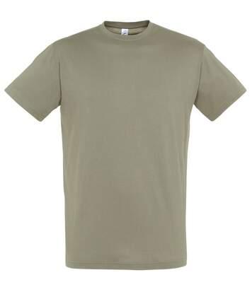 Sols - T-Shirt Regent - Homme (Kaki) - UTPC288