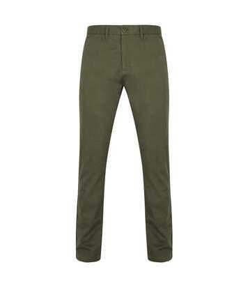 Front Row - Pantalon Chino - Homme (Bleu marine) - UTRW4698