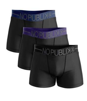 lot de 3 boxers coton homme belt color #2