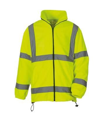 Yoko Mens Hi Vis Heavyweight Fleece Jacket (Pack of 2) (Yellow) - UTRW6875