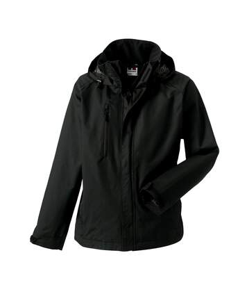 Jerzees Colours Mens Premium Hydraplus 2000 Water Resistant Jacket (Black) - UTBC564
