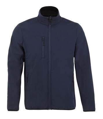 SOLS Mens Radian Soft Shell Jacket (Deep Blue) - UTPC4115