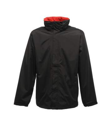 Regatta Mens Standout Ardmore Jacket (Waterproof & Windproof) (Black/Classic Red) - UTBC3041
