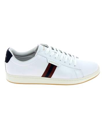 LACOSTE Carnaby Evo Blanc Bleu Rouge