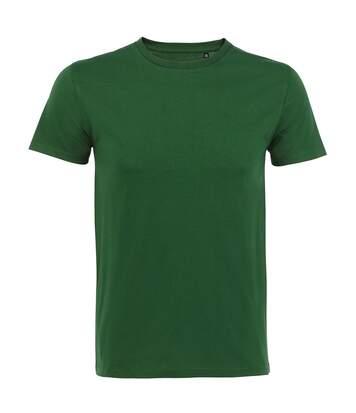 SOLS Mens Milo Organic T-Shirt (Bottle Green) - UTPC3232