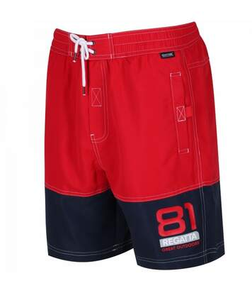 Regatta Mens Brachtmar Swimming Trunks (Pepper/Navy) - UTRG3465