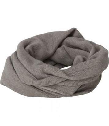 Echarpe - Tour de cou adulte - Taille unique - MB7302 - gris clair