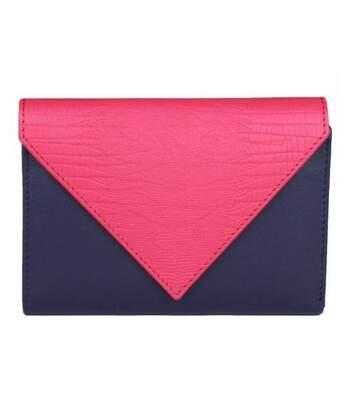 Eastern Counties Leather - Portefeuille En Forme D'enveloppe Belle - Femme (Violet / rose) - UTEL307