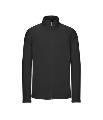 Kariban Mens Full Zip Microfleece Jacket (Black) - UTRW5625