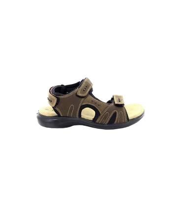 Roamers - Sandales De Sport En Cuir - Homme (Marron) - UTDF801