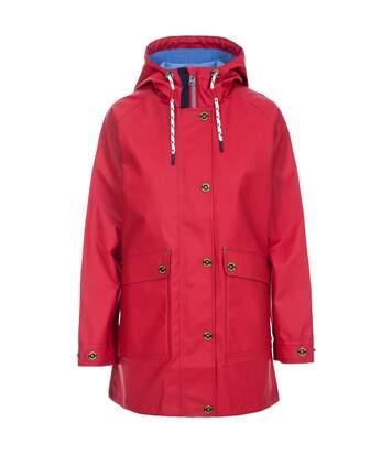 Trespass Womens/Ladies Shoreline Rain Jacket (Red) - UTTP4793