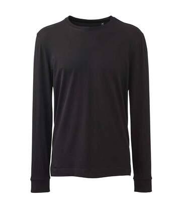 Anthem T-shirt à manches longues pour hommes (Noir) - UTPC4296