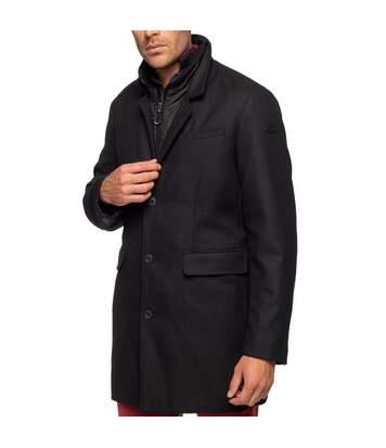 Manteau en laine coupe droite CITY