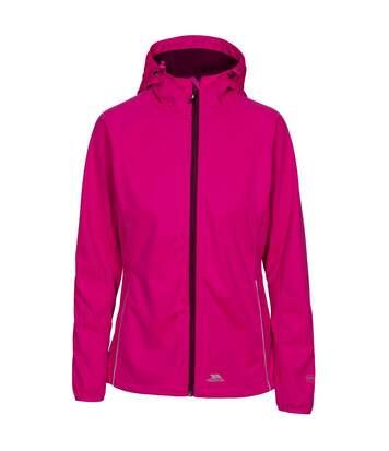 Trespass Womens/Ladies Sisely Waterpoof Softshell Jacket (Pink Glow) - UTTP3315