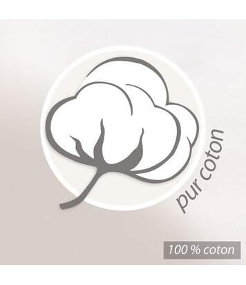 Parure de lit 200x200 cm 100% coton OBSESSION jaune Safran 3 pièces avec impression fixé-lavé