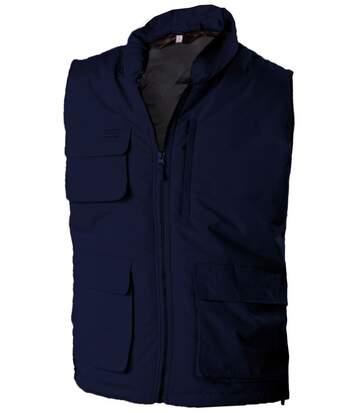 Veste sans manches bodywarmer matelassé - K615 - bleu marine