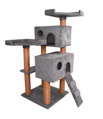 Arbre à chats multi activités 112 cm Uni