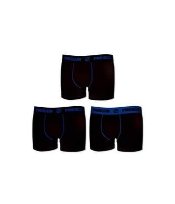 Lot de 3 boxers homme coton Noir