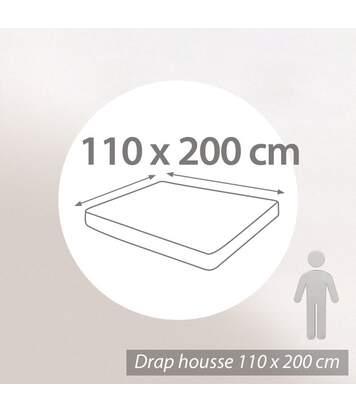 Protège matelas absorbant Antonin blanc 110x200