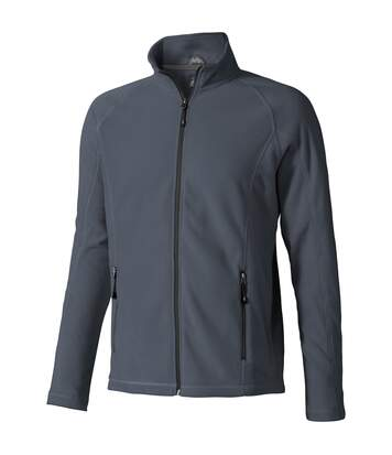 Elevate Mens Rixford Full Zip Polyfleece (Storm Grey) - UTPF1958