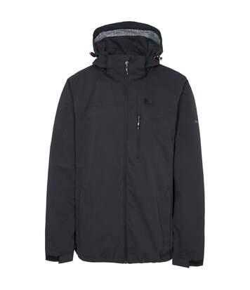 Trespass Mens Weir Waterproof Jacket (Black) - UTTP4592