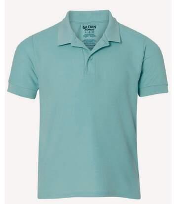 Gildan Mens Premium Cotton Sport Double Pique Polo Shirt (Chalky Mint) - UTBC3194